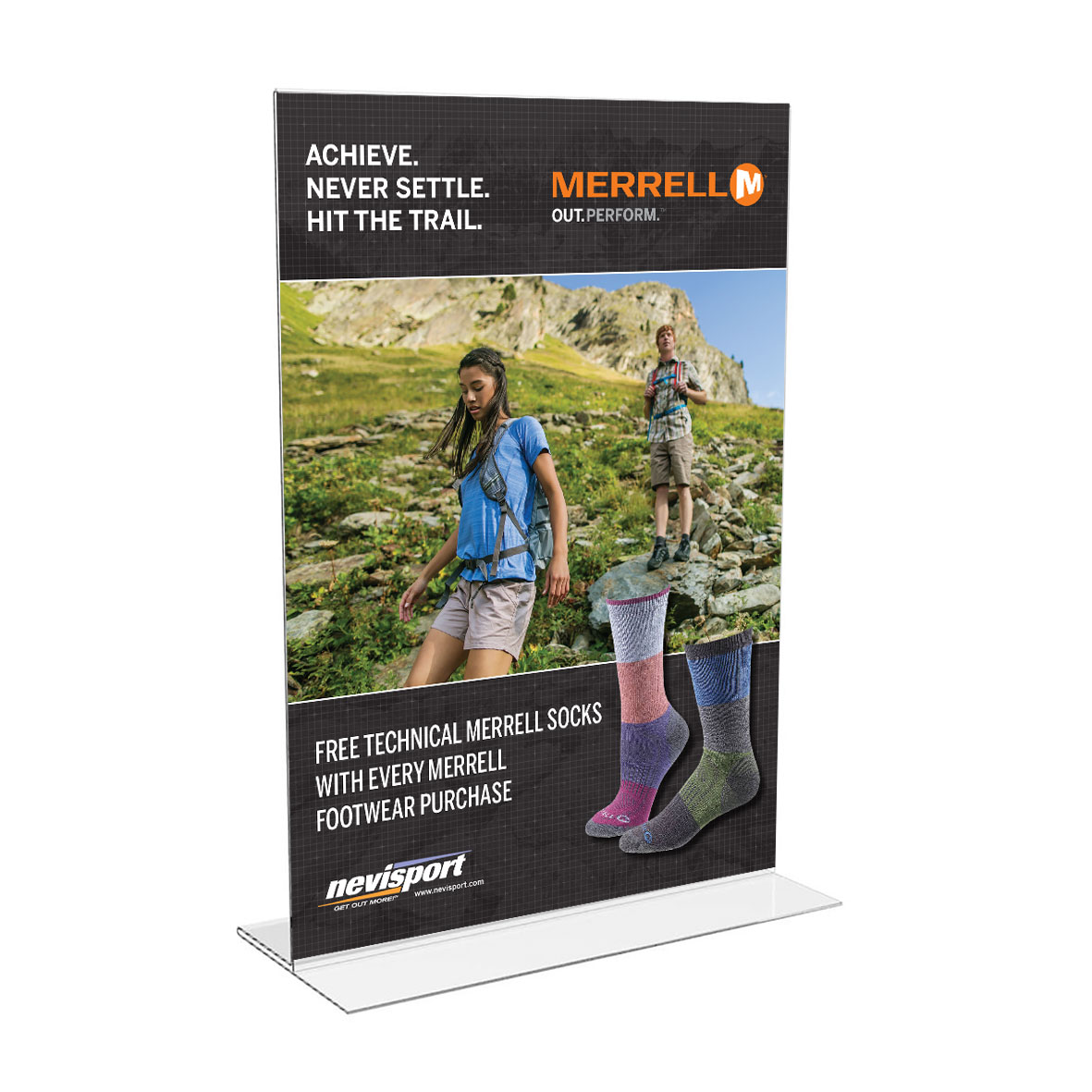 Merrell Table Top Shop Cards