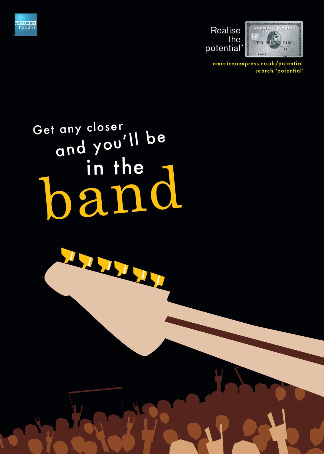 American Express Advert by Ogilvy