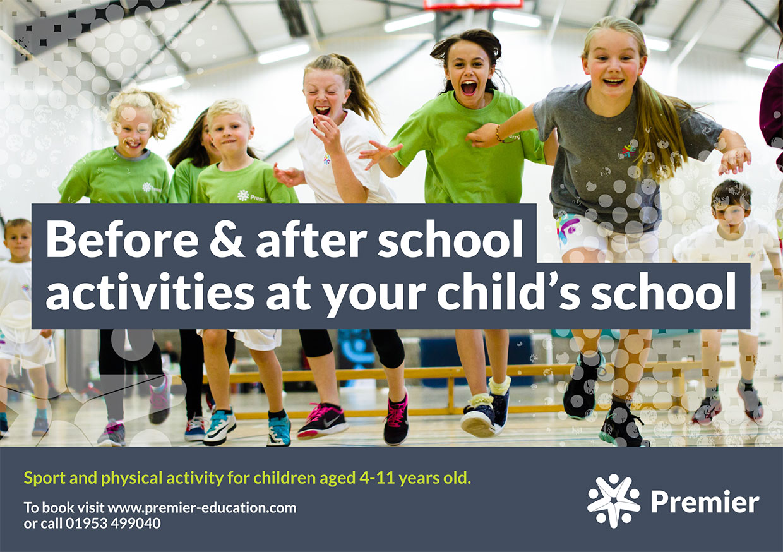 Premier Education / Premier Sport A6 Flyer