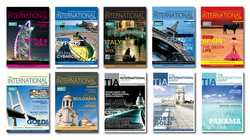 TIA Magazine Front Covers
