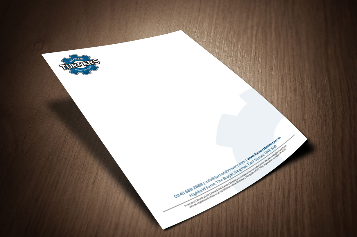 Turners Letterhead