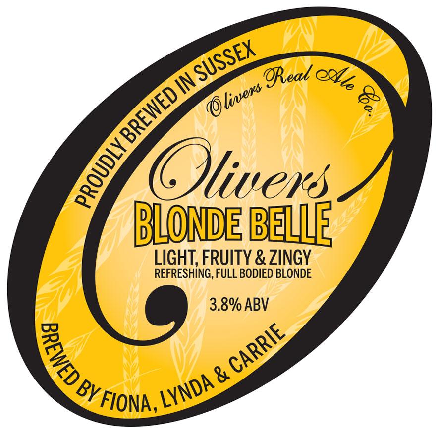 Oliviers Blonde Belle Logo