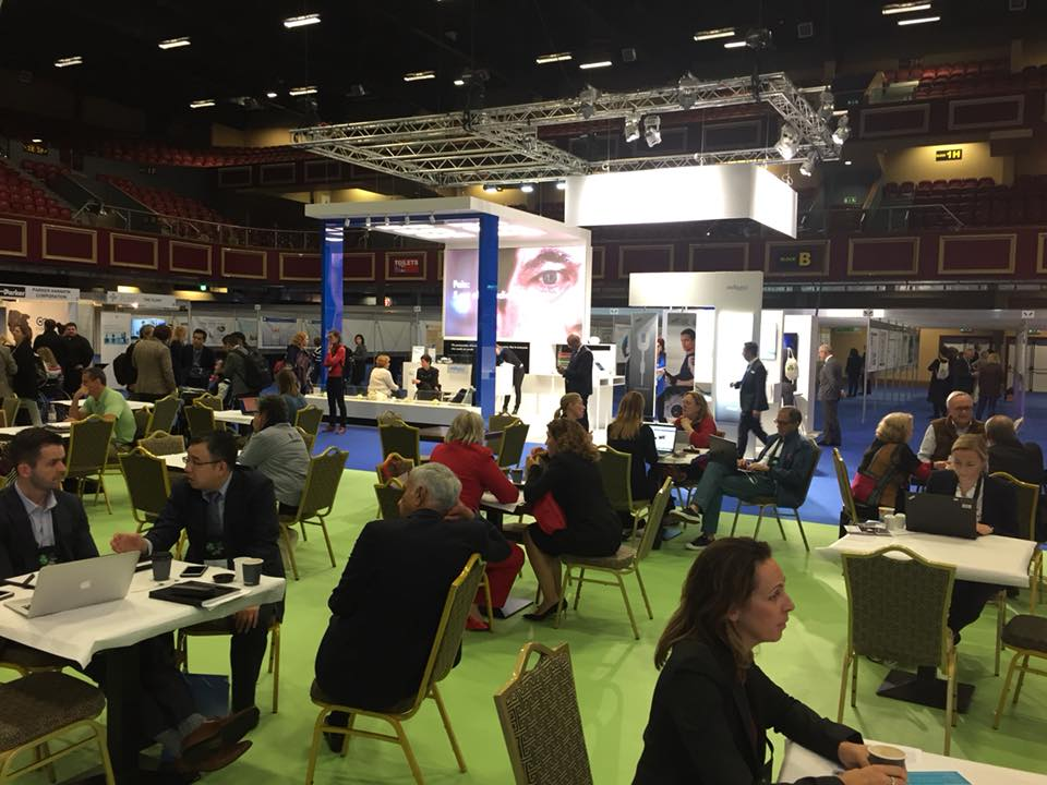 ISCoS Exhibitions Area in Dublin