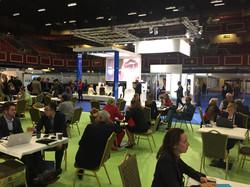 ISCoS Exhibitions Area in Dublin