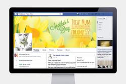 Facebook banner Advert