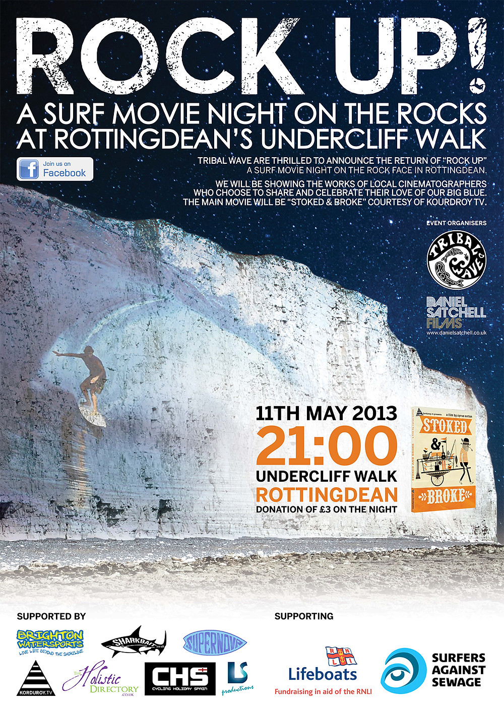 Rock Up 2013 Poster
