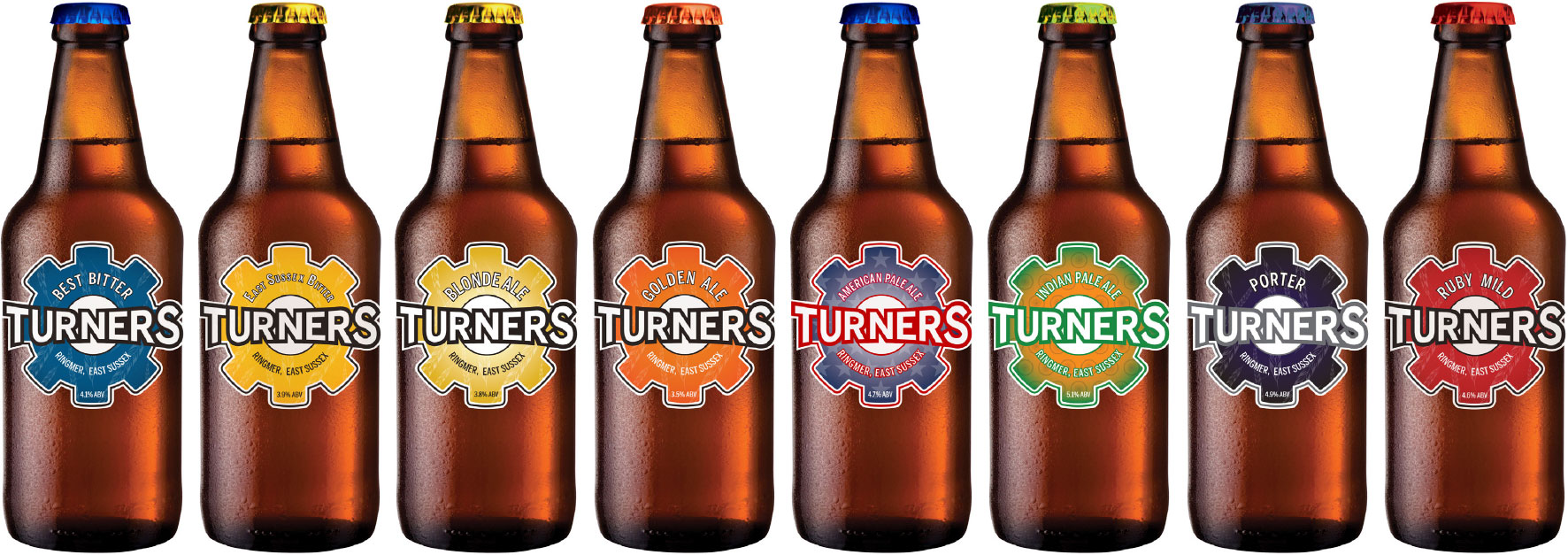 Turners Beer Full Range (Old Logo)