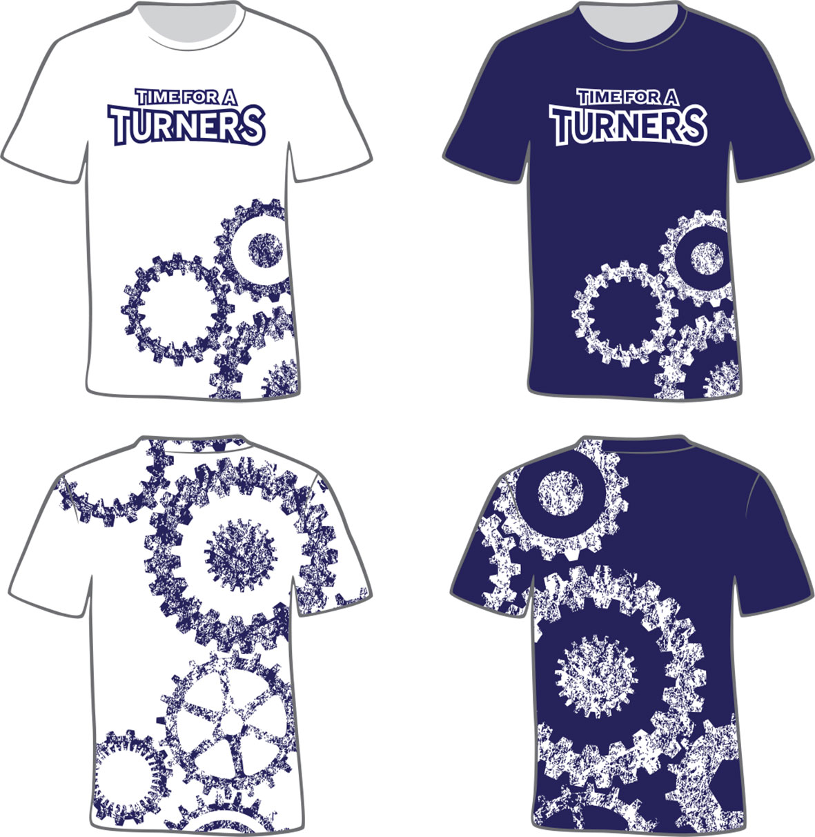 Turners T-Shirt Designs