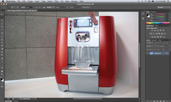 Creating a Cinimagraph for Virgin Pure