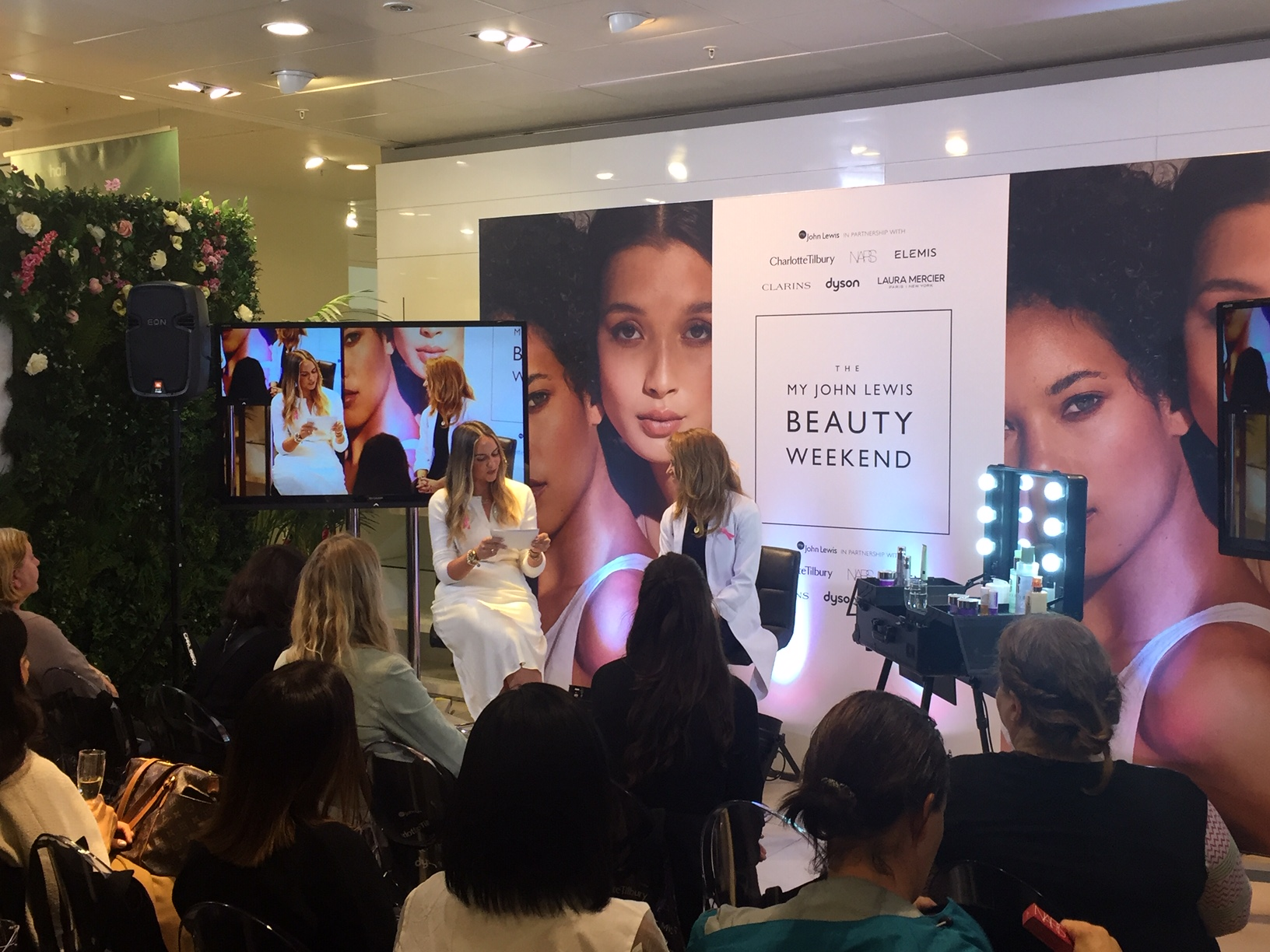 John Lewes Beauty Weekend Event