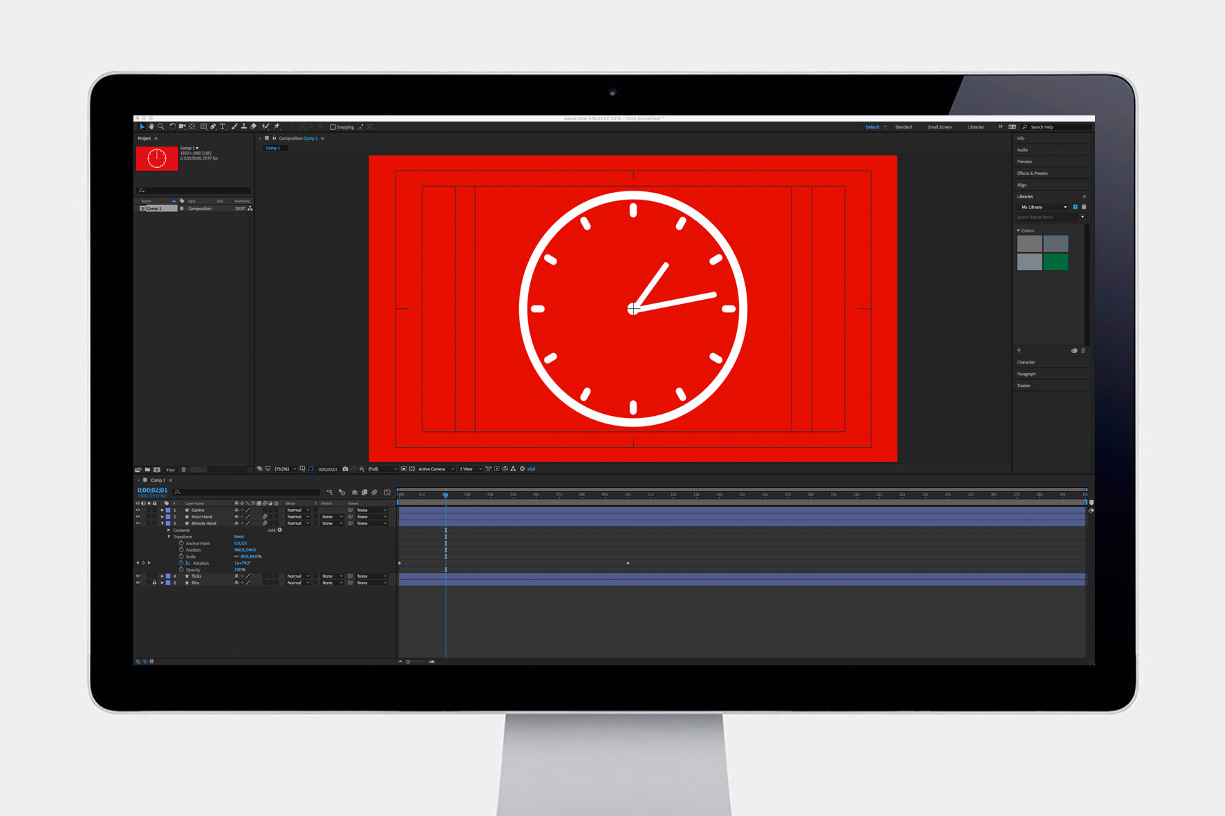 Adobe After Effects Animation for Virgin Pure