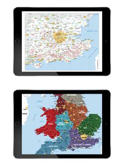 WTUK Wine Route Maps