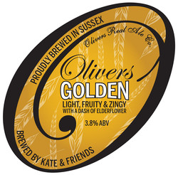 Oliviers Golden Logo