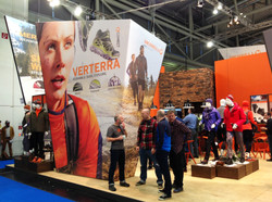 Graphics for an Expo in Germany for Merrell