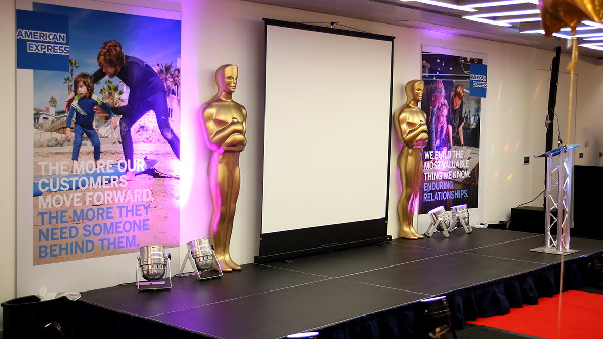 Oscar Award Ceremony Stage Area
