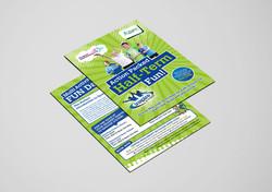 Premier Education / Premier Sport A6 Half-Term Flyer