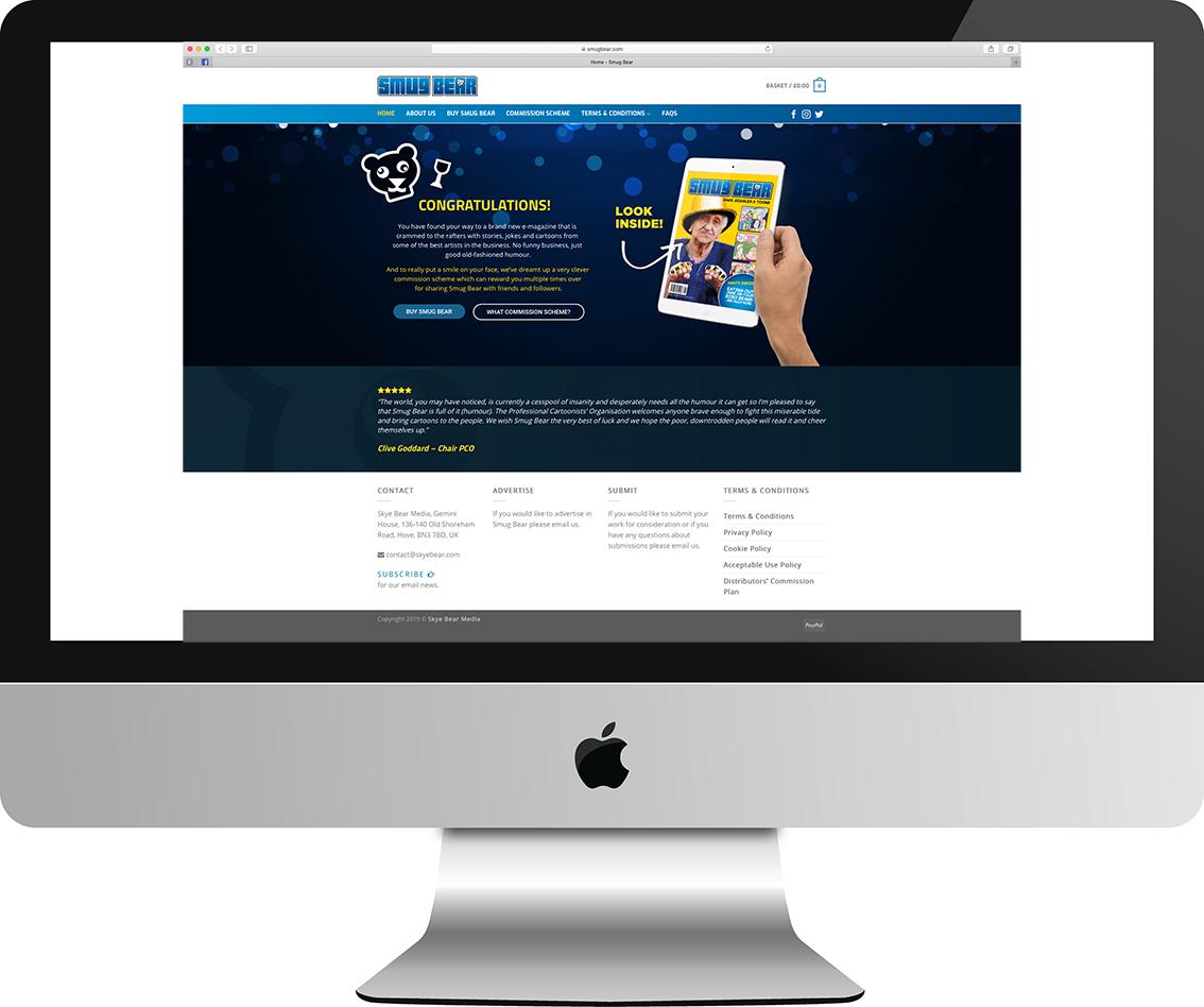 Smug Bear Website