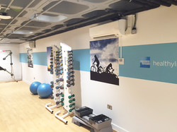Graphics Produced for the Healthy Living Gym in Burgess Hill, Sussex