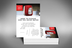 Virgin Pure A5 Printed B2C Handout