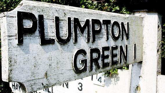 Plumpton Green Sign, East Sussex, UK