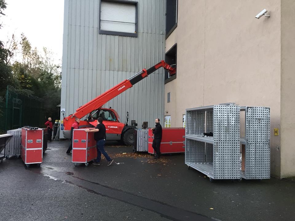 ISCoS Exhibition - Unloading Equiptment