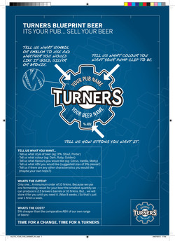 Turners Print Your Own Logo Poster
