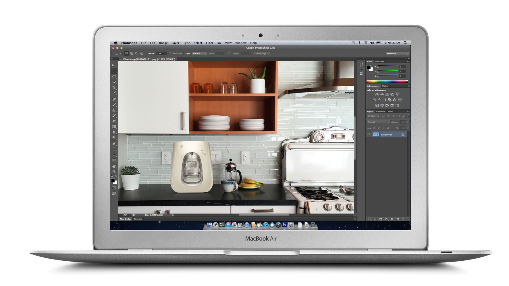 Photoshop Kitchen Mock Up