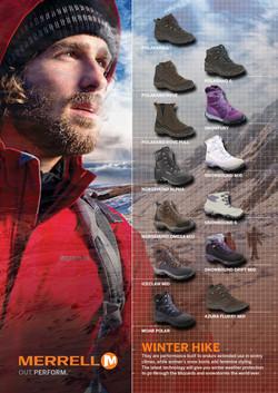 Merrell Full Page Magazine Advert