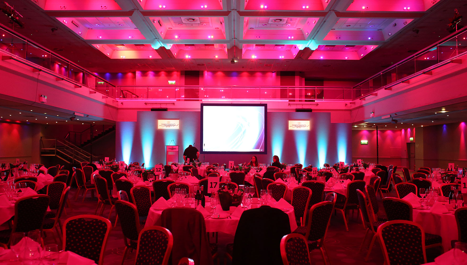 American Express Conference at the Brighton Hilton Metropole Hotel
