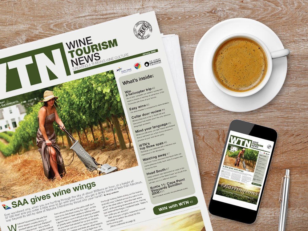 WTN Newspaper Front Cover