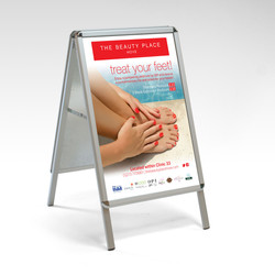 A-Board Printed Advert