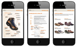 Merrell Training Guide on iPhone