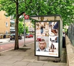 Merrell Bus Stop Advertisement