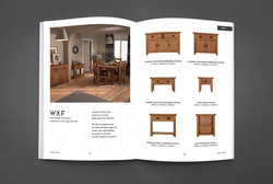 JTW Printed Furniture Brochure - Inside DPS Layout Design