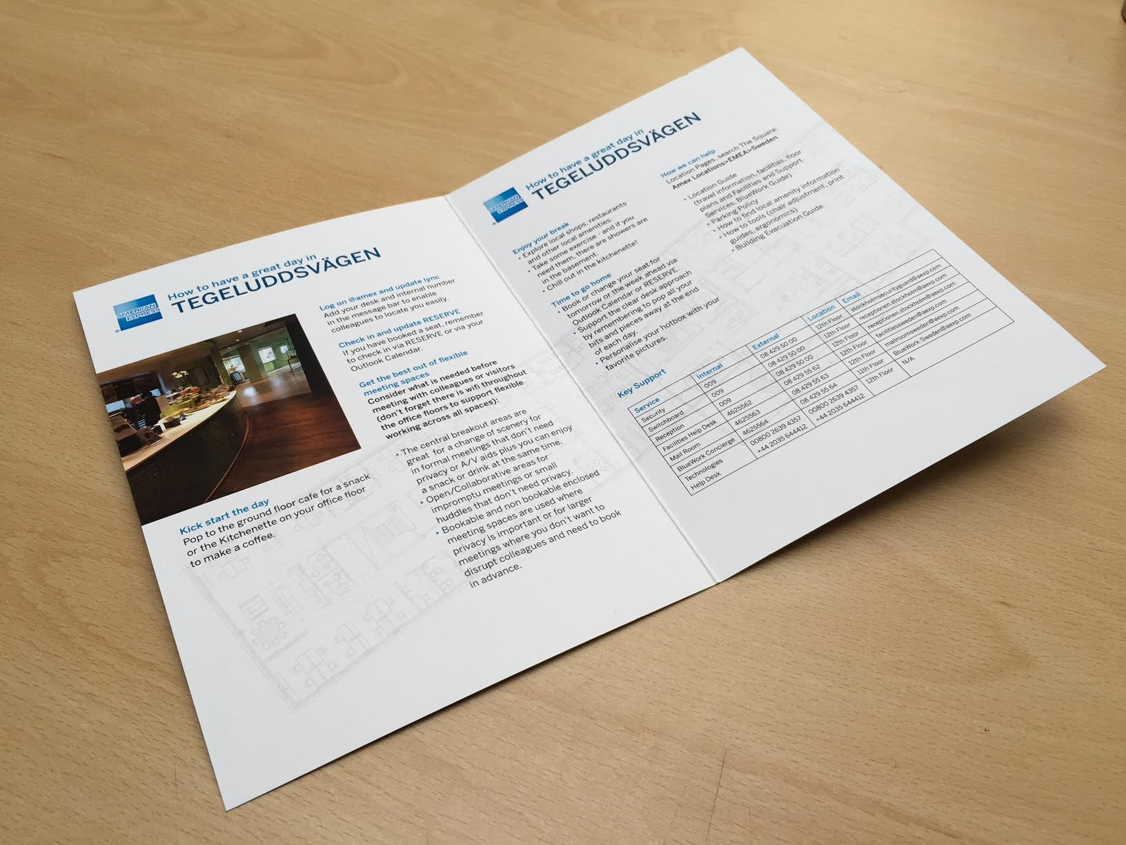 American Express A5 Welcome Guide
