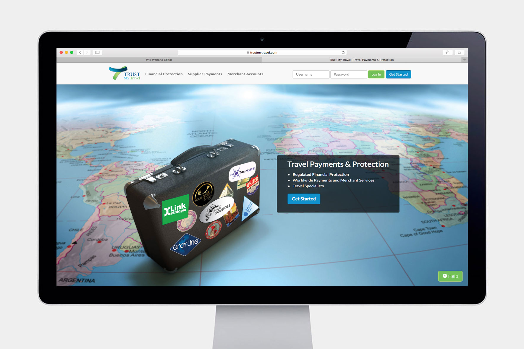 Trust My Travel Website