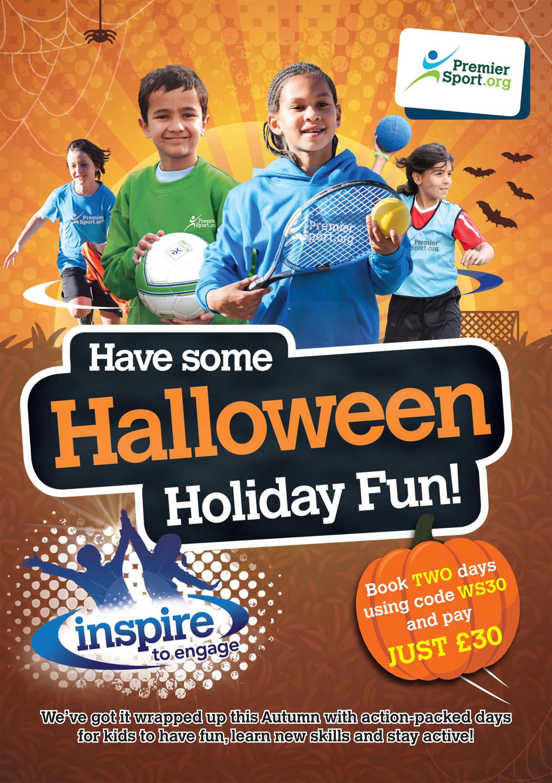Premier Education / Premier Sport A6 Halloween Flyer