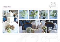 Flowers by Gemma Portfolio Booklet