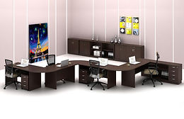 Classic office furniture that is beautiful and practical at the same time.