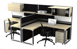 O-series office furniture symbolize the nobility and generosity of workspace in contemporary style.