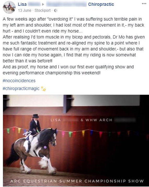 Chiropractic Shoulder back arm horse, Manchester Chiropractor, Manchester Chiropractor NHS, Chiropractor Stockport, Chiropractor Didsbury, Manchester Chiropractic Clinic, Chiropractor Manchester NHS