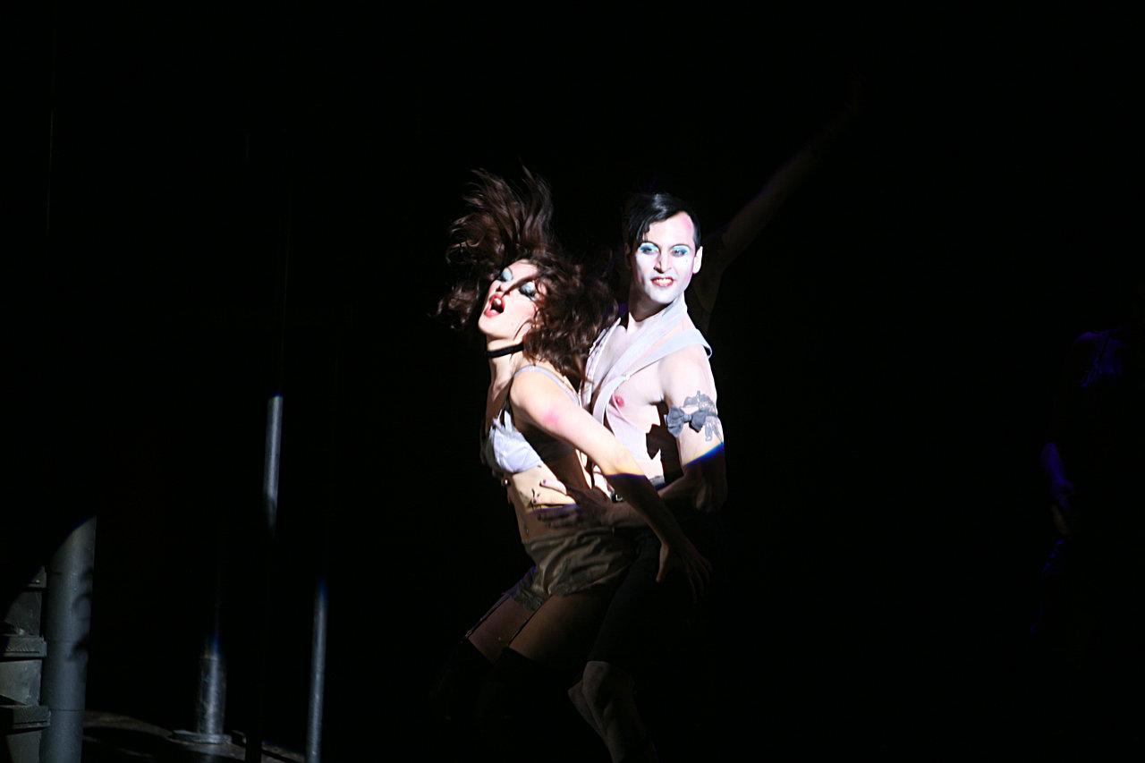 Nayra Petrini y Victor Masan