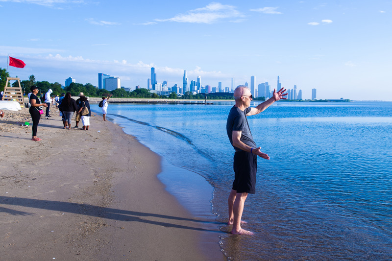 Prayer At Beach 2019