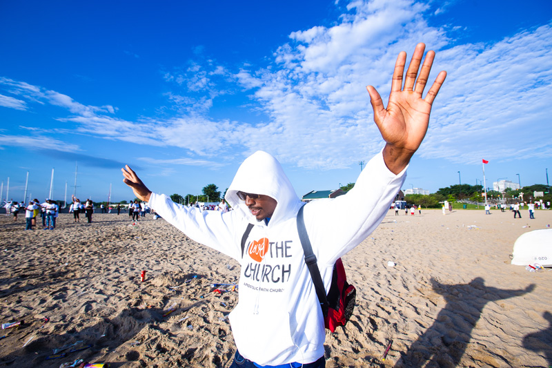 Prayer At Beach 2019