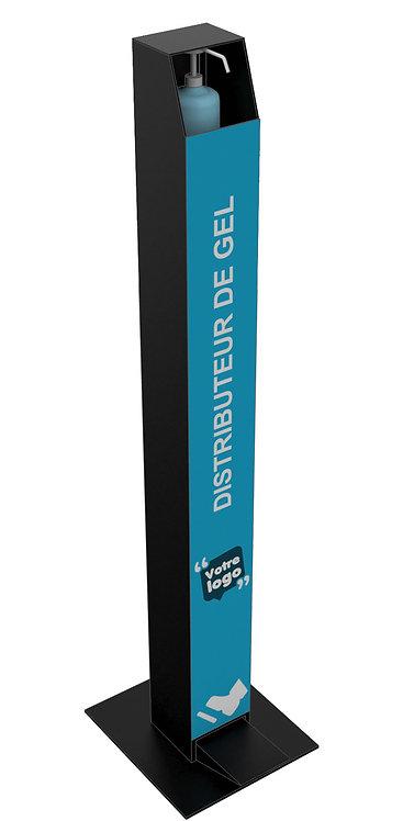 Visuel imprimé pour Distributeur de gel à pédale