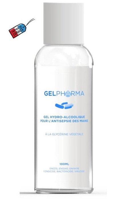 Lot 10 Gels Hydroalcooliques 100 ml