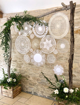 dream catcher backdrop, photo backdrop, ceremony backdrop, prop hire