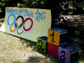 Kinder-Olympiade in der Tagesgruppe