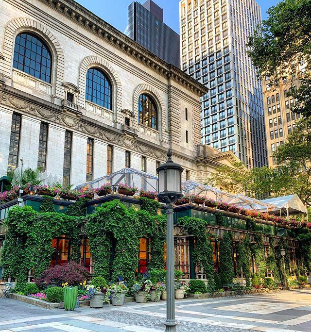 Bryant Park, Manhattan, New York, July 2019