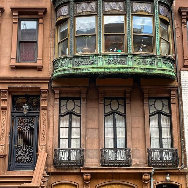 71st street between Central Park West and Columbus Ave, Upper West Side, Manhattan, New York